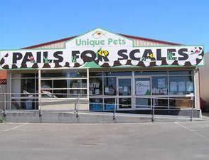 Shop Front - Pails for Scales Unique Pets
