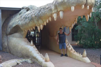 While in Broome We visited into Malcom Douglas Crocodile Farm