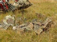 Building reptile habitat , rocks taken from old mine site The Block Berringa